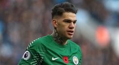 Ederson was the world's most expensive keeper prior to the Alisson deal (Martin Rickett/PA)