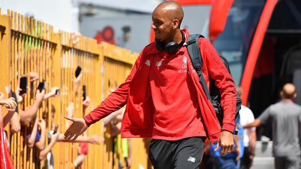 Fabinho has signed for Liverpool (Anthony Devlin/PA)