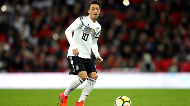 Arsenal midfielder Mesut Ozil hit out at his treatment by the German Football Association (Nick Potts/PA)