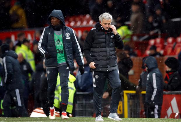 Paul Pogba's form has been inconsistent since Mourinho brought him to Old Trafford two years ago