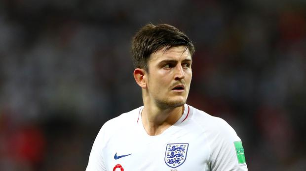 Leicester will fight to keep Harry Maguire. (Tim Goode/PA)