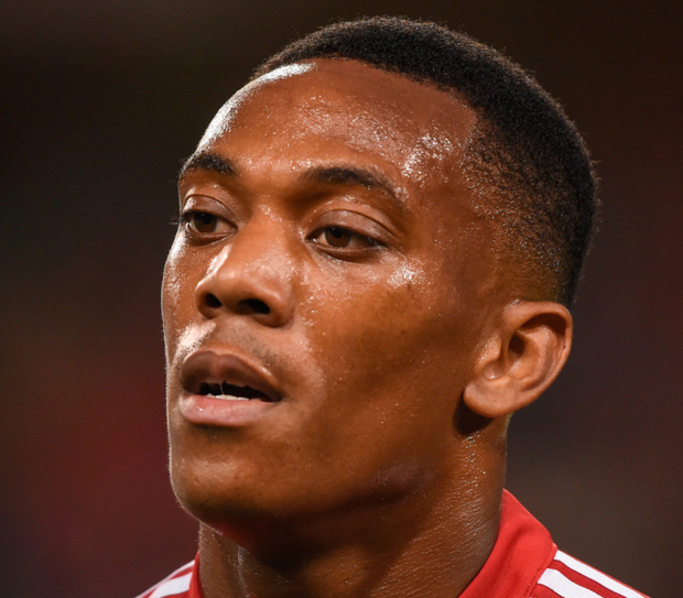 Manchester United's Anthony Martial. Photo: Sportsfile