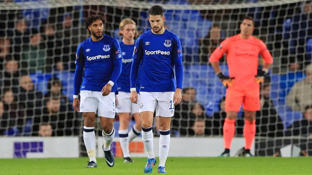 Kevin Mirallas, foreground, is set to join Fiorentina on loan (Martin Rickett/PA)