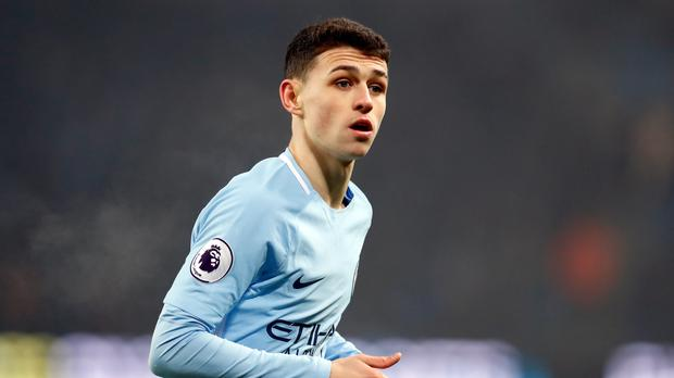 Phil Foden is tipped for a bright future at Manchester City (Martin Rickett/PA)