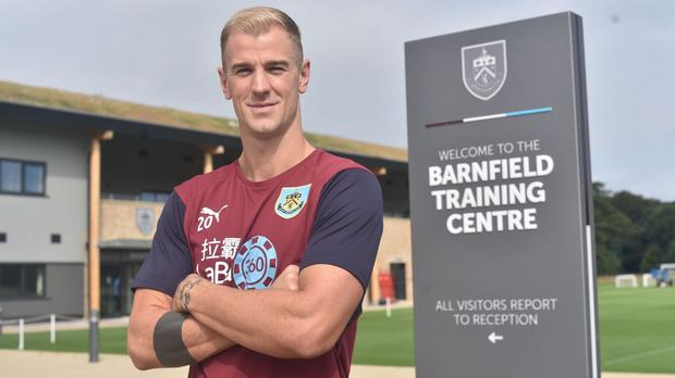 Joe Hart has signed for Burnley (Burnley Football Club)