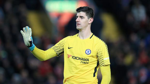 Thibaut Courtois has left Chelsea to join Real Madrid on a six-year deal (Peter Byrne/PA)