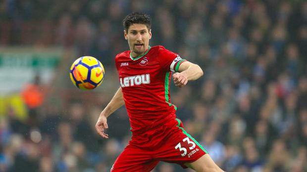 Swansea defender Federico Fernandez is heading north (Mike Egerton/PA)