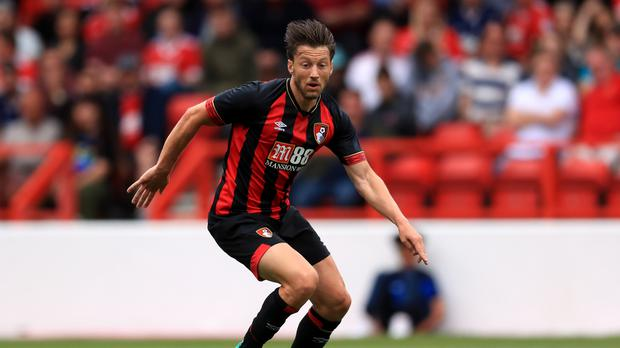 Bournemouth's Harry Arter will spend the coming season at Cardiff (Mike Egerton/PA)