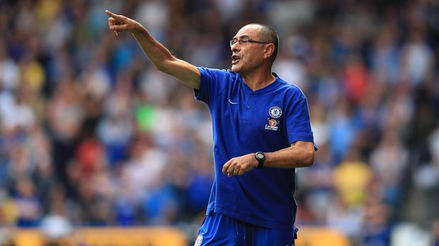 Chelsea manager Maurizio Sarri enjoyed a first Premier League win (Mike Egerton/PA)