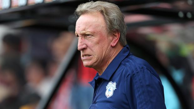 Neil Warnock was pleased with the performances of his players (Mark Kerton/PA)