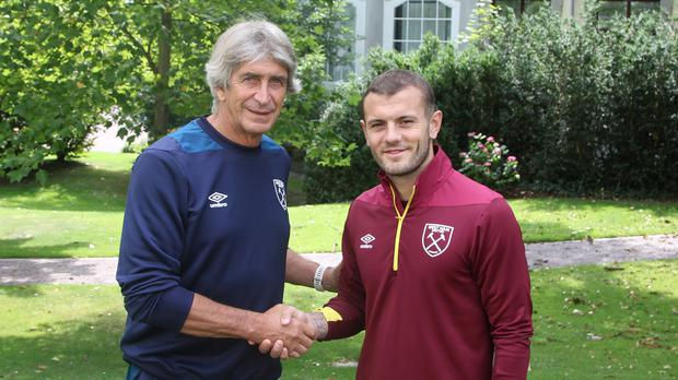 Manuel Pellegrini brought Jack Wilshere to West Ham (West Ham United Football Club)