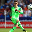 Kepa Arrizabalaga enjoyed a quiet debut for Chelsea in their opening-day win at Huddersfield (Mike Egerton/PA)