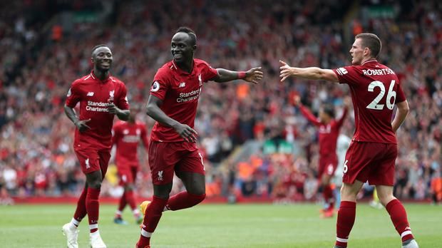 Liverpool opened their Premier League campaign with a convincing 4-0 win over West Ham (David Davies/PA)