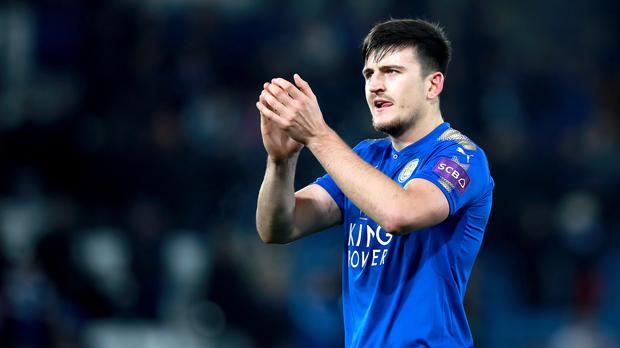 Harry Maguire looks read to commit his long-term future at Leicester (Mike Egerton/PA)
