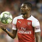 Ainsley Maitland-Niles could be set for around two months of recovery. (Niall Carson/PA)