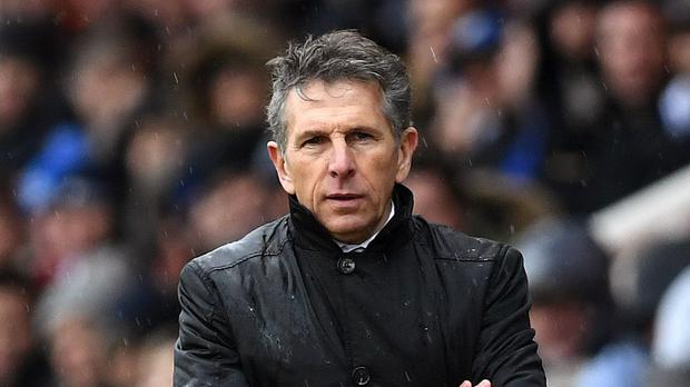 Claude Puel is under the spotlight (Joe Giddens/PA)