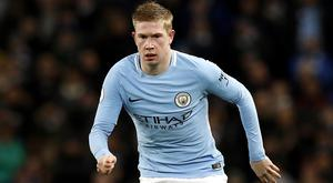 Kevin De Bruyne is set for a lengthy spell on the sidelines (Martin Rickett/PA)
