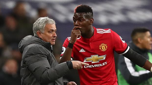 Jose Mourinho's relationship with Paul Pogba is under scrutiny (John Walton/PA)