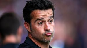 Marco Silva wants to be impressed by Everton this weekend (Dave Thompson/PA)