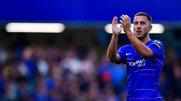 1a5a8847003 Eden Hazard says he is staying at Chelsea this month (Victoria Jones PA  Images
