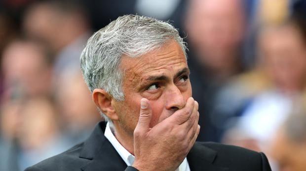 Jose Mourinho endured an unhappy weekend as Manchester United lost at Brighton (Gareth Fuller/PA)