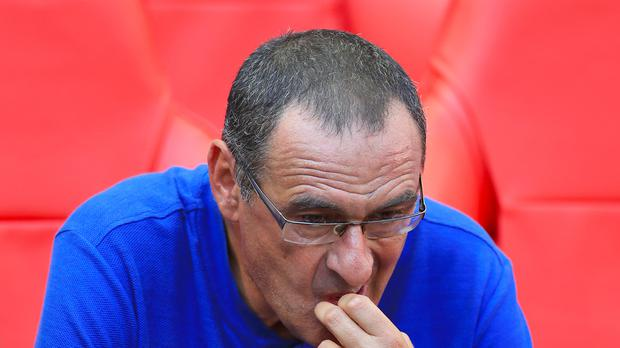 Maurizio Sarri suggested he may give up smoking after Chelsea beat Arsenal (Mike Egerton/PA Images)