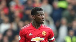 Paul Pogba admitted fans had the right to be angry with United for losing at Brighton (Gareth Fuller/PA)