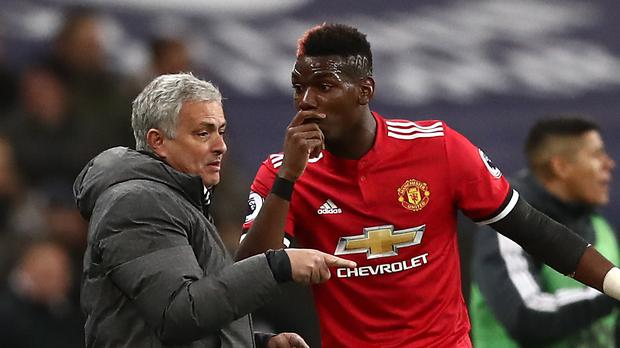 Jose Mourinho and Paul Pogba are under scrutiny (John Walton/PA)