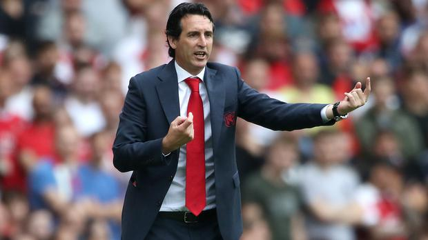 Arsenal head coach Unai Emery has lost his first two games in charge of the Gunners (Nick Potts/PA)