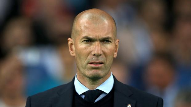 Zinedine Zidane is said to want to replace Jose Mourinho should he leave United (Nick Potts/PA)