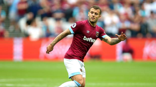 Wilshere ended a 17-year association with Arsenal when left for West Ham this summer. (Nigel French/PA)