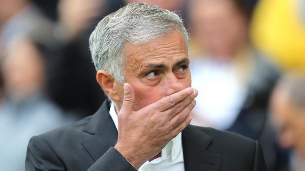 Jose Mourinho saw his side lose at Brighton last weekend (Gareth Fuller/PA)