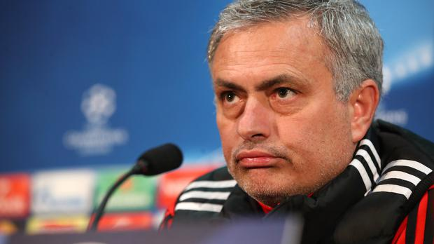 Jose Mourinho delivered an unusual press conference on Monday (Martin Rickett/PA)