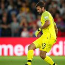 Liverpool goalkeeper Alisson Becker has warned fans he likes to take risks (Nick Potts/PA).
