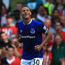 Everton's Richarlison celebrated his first senior Brazil selection this week (Peter Byrne/PA)