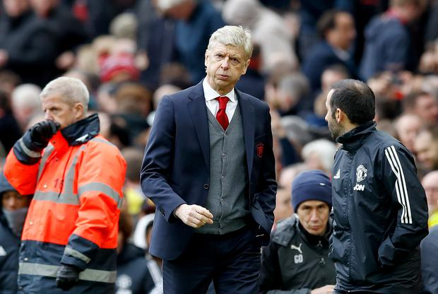 Arsene Wenger criticised Ole Gunnar Solskjaer's tactics against PSG