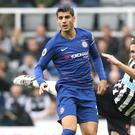 Chelsea's Alvaro Morata, left, considered leaving the club in the summer (Owen Humphreys/PA)
