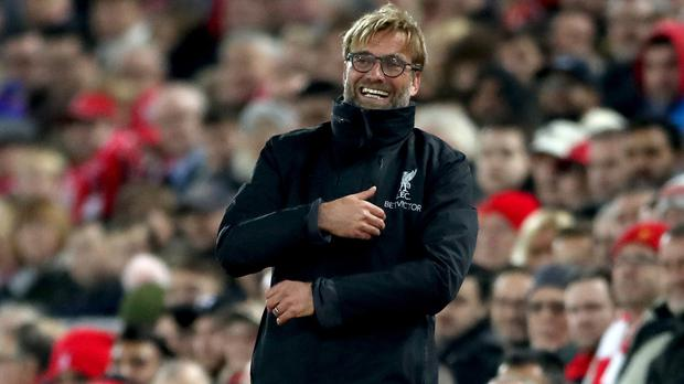 Jurgen Klopp laughs off Gary Neville's comments about Liverpool