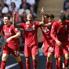 Liverpool continued their superb start to the season with a win at Tottenham (Adam Davy/PA)