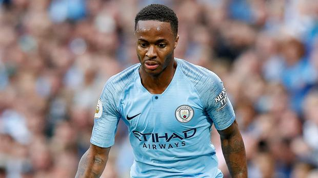 Raheem Sterling is in talks over a pay rise at Manchester City, reports say (Martin Rickett/PA)