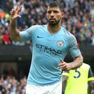 Sergio Aguero is Manchester City's all-time leading goalscorer (Martin Rickett/PA)