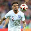 Kyle Walker played as a centre-back in Russia (Adam Davy/PA)