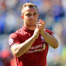Xherdan Shaqiri impressed as Liverpool beat Southampton at Anfield (Mike Egerton/PA)