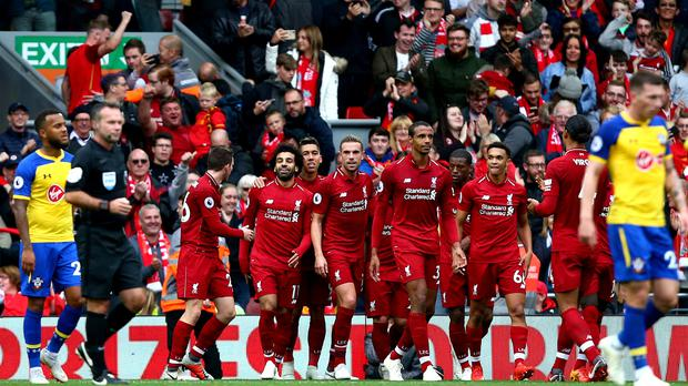 Liverpool continued their winning start to the season (Dave Thompson/PA)