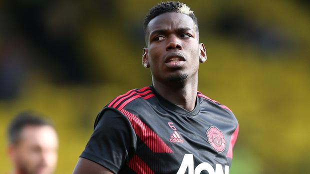Paul Pogba, pictured, appears to have fallen out with Jose Mourinho (Nigel French/PA)