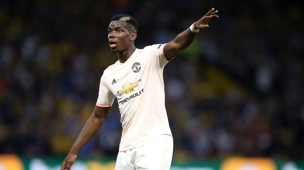 Paul Pogba's future at Manchester United is the subject of much speculation (Nigel French/PA)