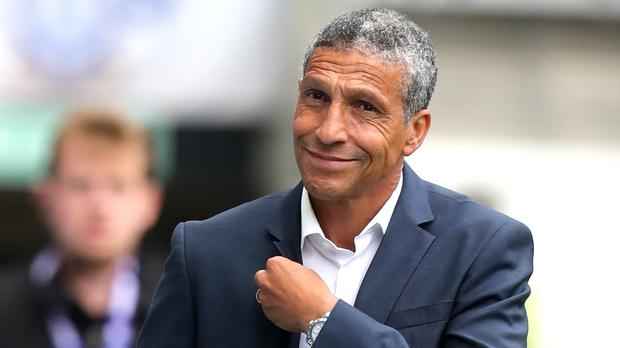 Chris Hughton, pictured, is pleased with the appointment of Dan Ashworth (Gareth Fuller/PA)