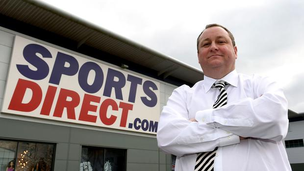 Newcastle owner Mike Ashley, who out the club up for sale in October last year (Joe Giddens/PA)