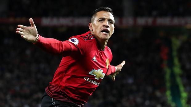 Image result for Alexis Sanchez manchester united
