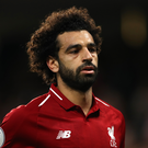 'What is vitally important during what is undoubtedly a difficult period for Salah, is that he plays as freely as he can but continues to work for his team-mates and puts in the hard graft so they are happy and still love him.' Photo: John Walton/PA